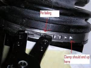 Problems with cv boot clamp yotatech forums