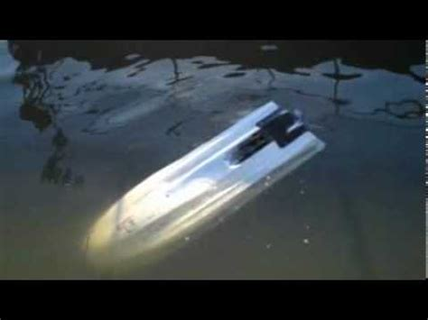 sinking jet boat bob sinking test youtube