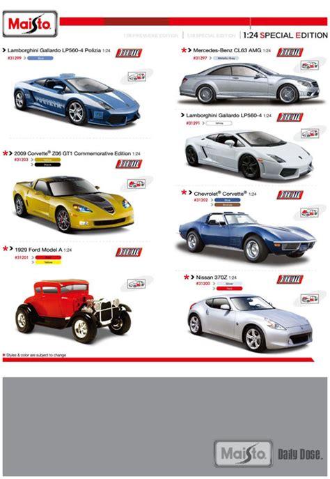 new diecast cars 1 24