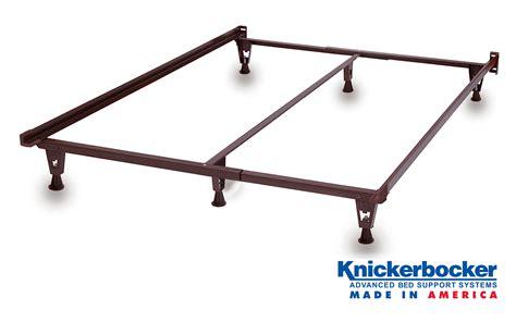 heavy duty bed frame on glides knickerbocker bed