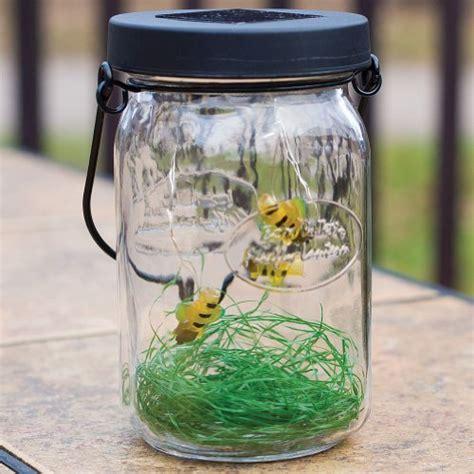 echo valley solar firefly led glass lantern flickering