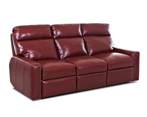 couches with recliners built in comfort design ausie ii reclining sofa clp435rs