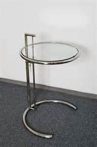 designer tisch rund designer tisch beistelltisch rund chrom glas stylish