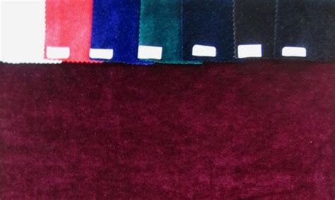 what color is velvet velvet in solid colors