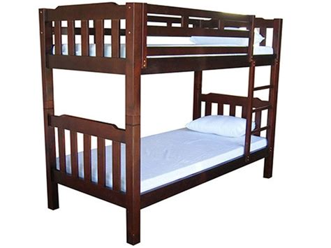King Single Bunk Bed Adelaide King Single Bunk Bed Solid Pine