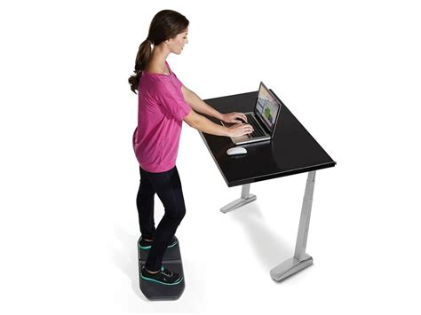 simply fit board standing desk get the 40 gaiam evolve balance board for standing desks