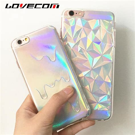 Pastel Block For Iphone 5 5s Se 6 6 Kode Ss10382 φ φlovecom for iphone 5s 5 5 se 6 6s ᗑ 7 7 plus bright hologram iridescent triangle