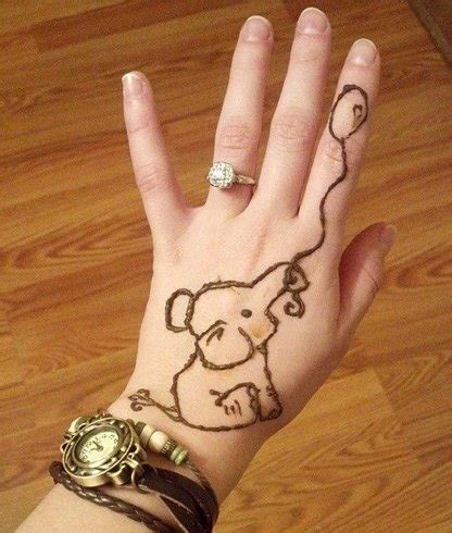 elephant hand henna tattoo 42 mehndi designs for adoring the princesses