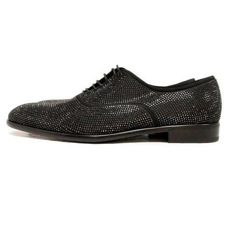 salvatore ferragamo black swarovski dress shoes for sale