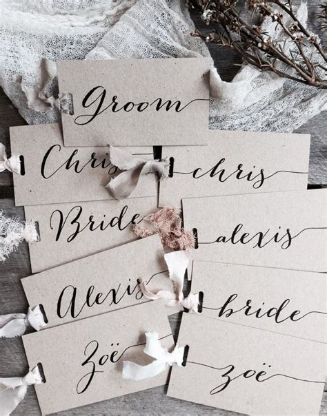 do you write wedding place cards wedding place cards place cards place card name tags