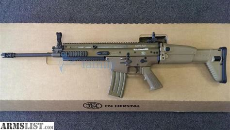 armslist for sale fn scar 16s light 5 56 16 quot flat