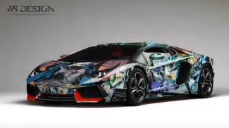 Lamborghini Aventador Wrap Lamborghini Aventador Design Wraps By Ws Designs