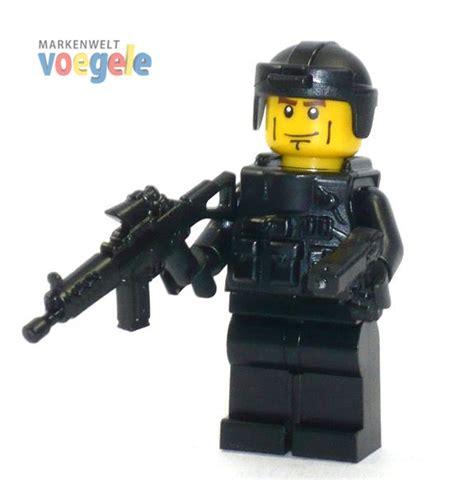 Aufkleber Sek Helm by Custom Figur Spezialeinheit Swat Aus Lego 174 Teilen Mit Helm