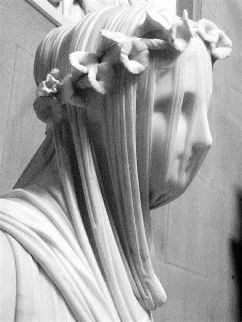 The Veiled Vestal Virgin by Raffaele Monti, 1847
