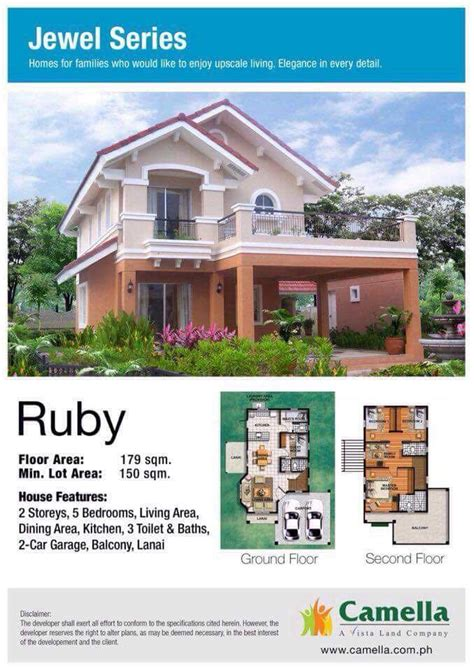 Search House Plans house models 2017 camella homes tarlac