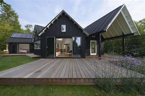 home design for village danish summer house powerhouse company archdaily