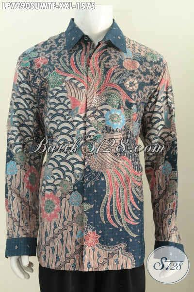 Kemeja Premium Jumbo hem batik premium ukuran jumbo baju batik 3l bahan