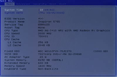 how to restore the bios (system setup) defaults on a dell