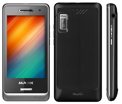 maxx mobile maxx mobiles launches dual sim touch phone maxx maestro mt255