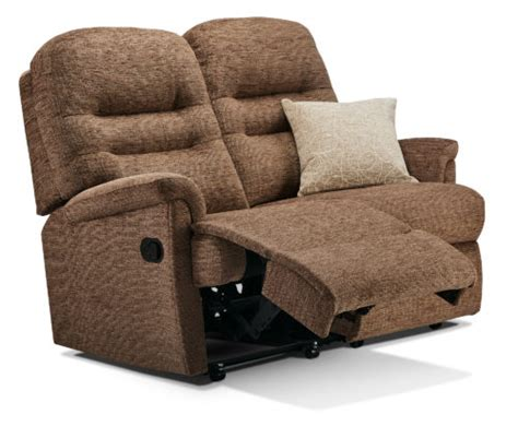 recliner settees keswick small fabric reclining 2 seater settee f l