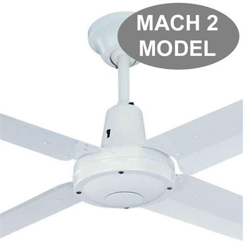 Typhoon Ceiling Fan typhoon ceiling fan mach 2 by pacific in white