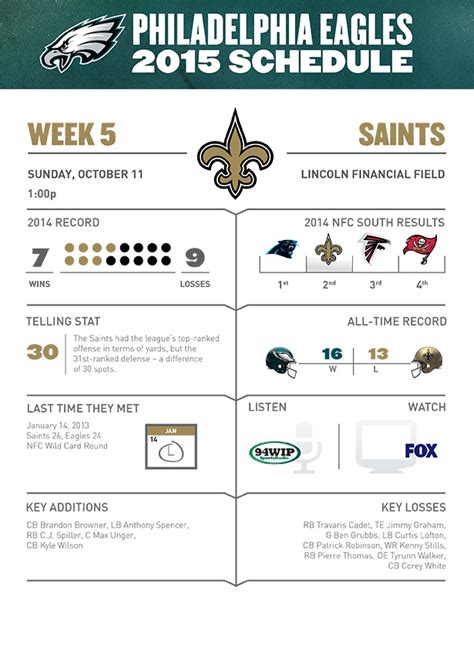 printable eagles schedule 2015 eagles schedule picture and images