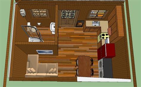 10 X 16 Floor Grid - adam s 10x14 cabin with solar porch simple solar