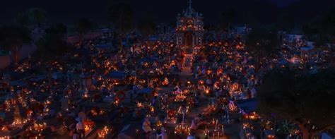 coco land of the dead pixar s coco visits the land of the dead in gorgeous