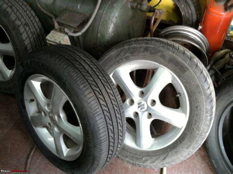 Suzuki Wheels And Tyres Maruti Suzuki Sx4 Tyre Wheel Upgrade Thread Page 9