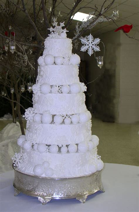 winter wedding cakes inspirations events