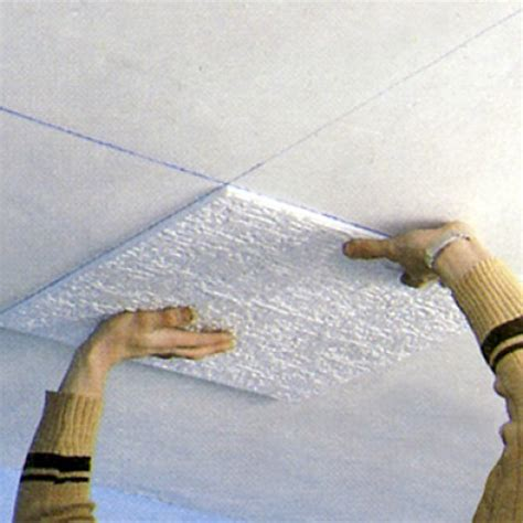 Plaque Polystyrene Plafond by R 233 Nover Un Plafond Avec Des Dalles De Polystyr 232 Ne