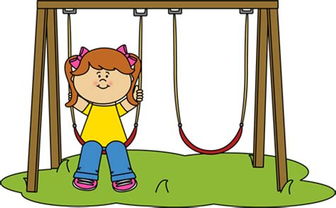 swing girl recess recess clip art recess images