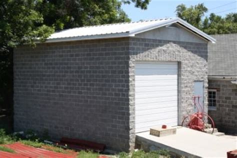 Cinder Block Storage Shed by Concrete Block Structures Of Biloxi Preservation In