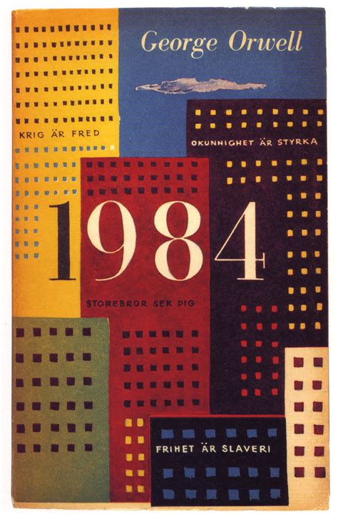 1984 book report 01 olle eksell book cover 1959 george orwell 1984 flickr