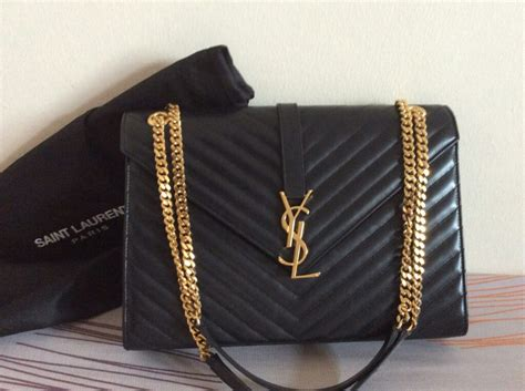 ysl monogram bag royal blue clutch bags