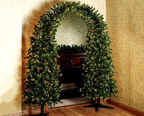 pre lit christmas tree arch the green head