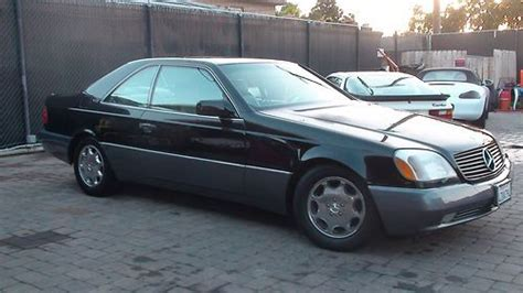 automobile air conditioning repair 1993 mercedes benz 600sec user handbook find used mercedes benz 1993 600 sec 150 000 miles very clean fully serviced in long beach