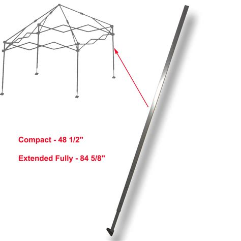 Canopy Parts by Quik Shade Expedition Gazebo Canopy 10 X 10 Adjustable Leg