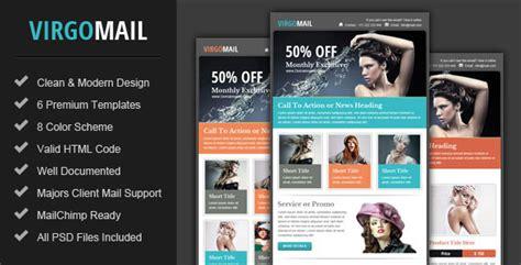 virgomail email marketing newsletter template