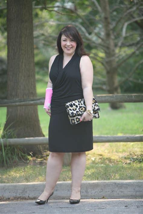 wore    black dress wardrobe oxygen