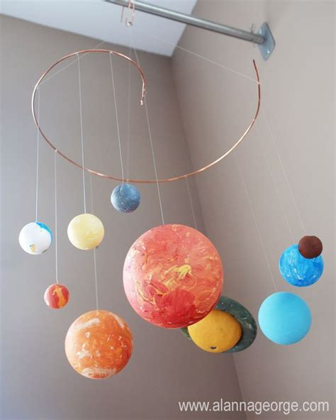 Solar System Handmade - 25 best ideas about solar system model on