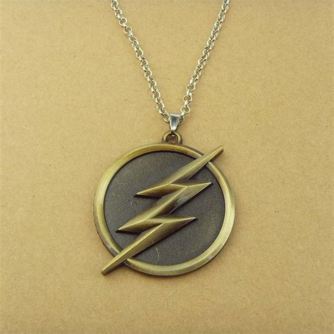dc comics jewelry the flash lightning