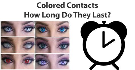 where can you get colored contacts how do colored contacts last camoeyes
