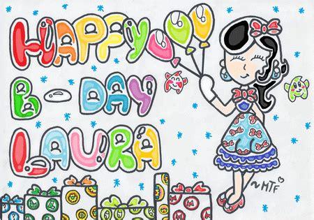 imagenes y frases bonitas con nombre de griselda lindas postales de feliz cumplea 241 os con nombre laura
