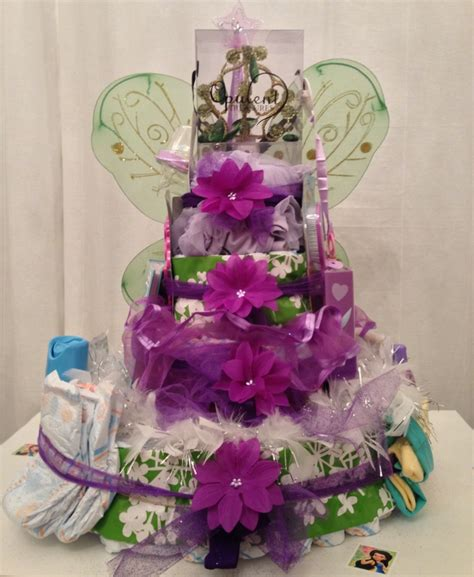 Tinkerbell Baby Shower Ideas by Tinker Bell Fairies Inspired Cake Baby Shower
