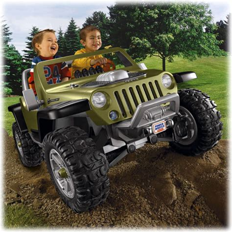 Power Wheels Jeep Hurricane Power Wheels Powered Ride On Cars Trucks For