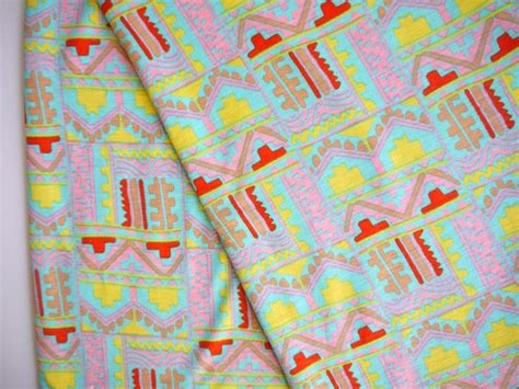 bright colored upholstery fabric tribal fabric geometric bright colors fabric stretchy