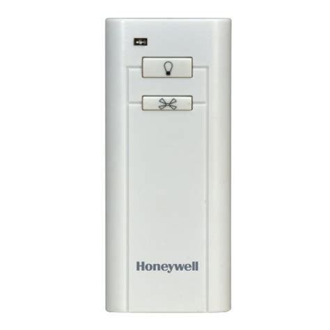 honeywell handheld ceiling fan remote model 40009 smart