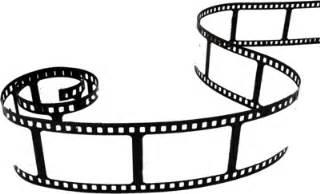 movie reel movie film strip clip art image clipartcow
