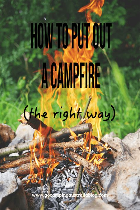 how to put out a fireplace do you how to put out a cfire properly 6 tips go cing australia